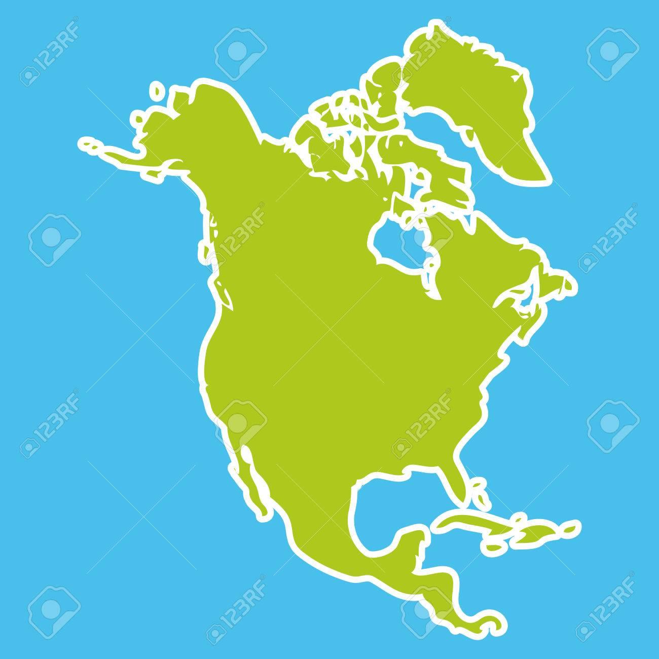 Nordamerika kontinent