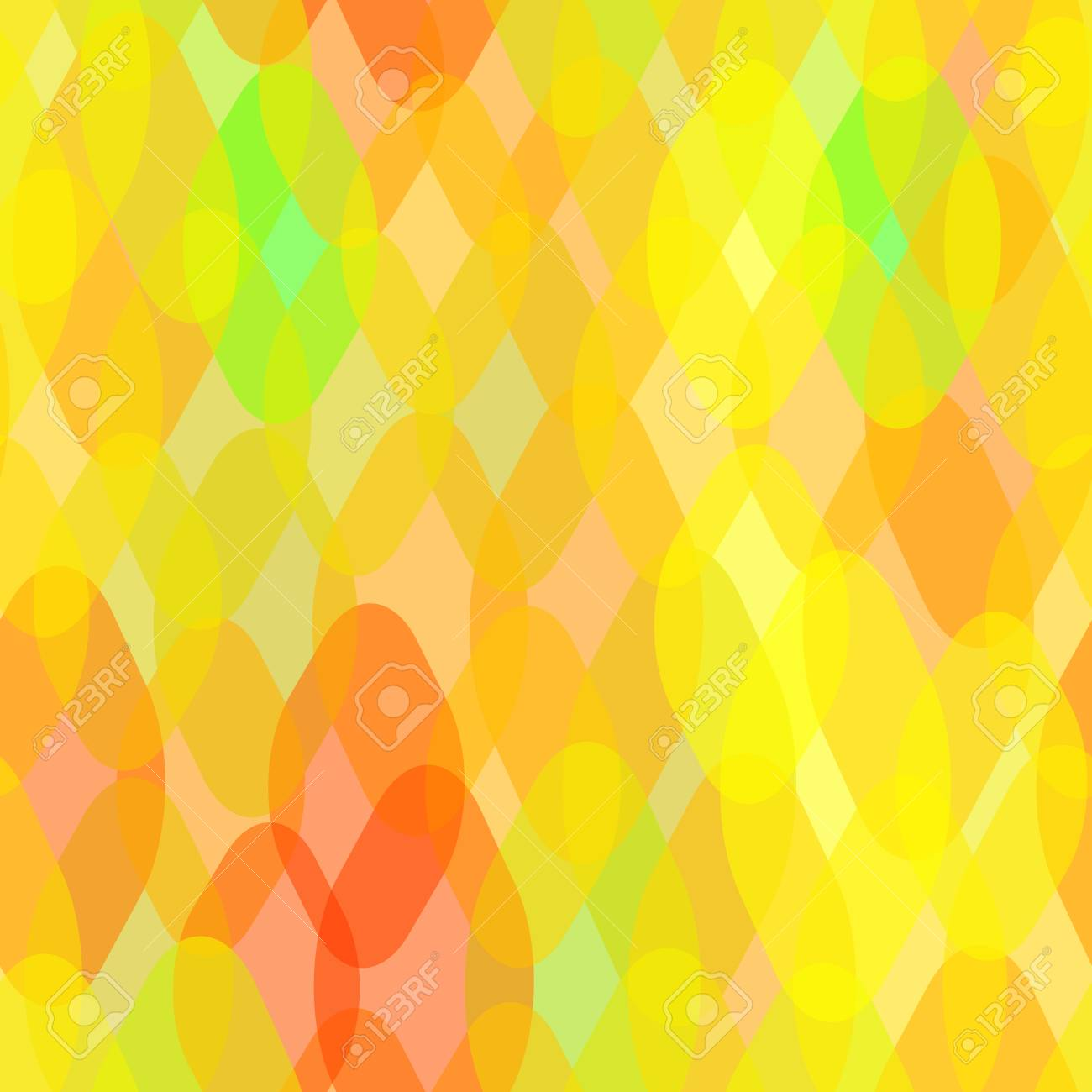 Abstract Geometric Seamless Pattern With Rhombus And Squama ...