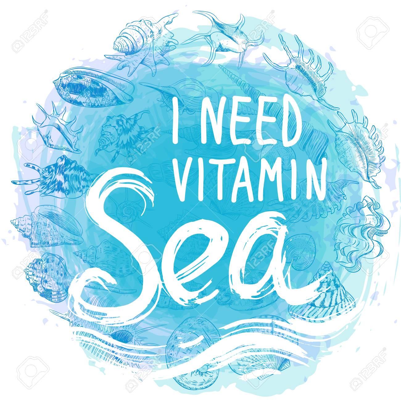 Get I Need Vitamin Sea DXF
