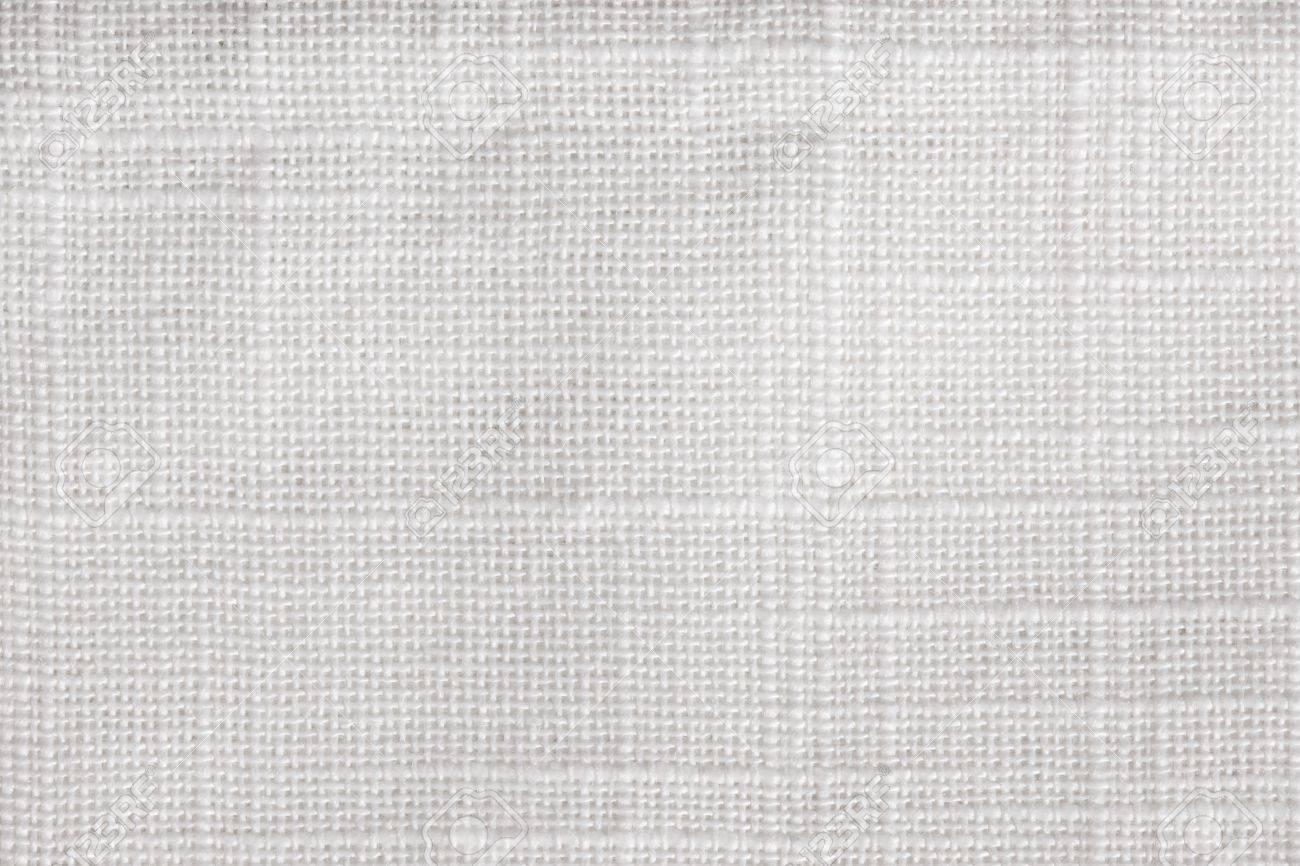 White linen canvas texture background Stock Photo - 13218249