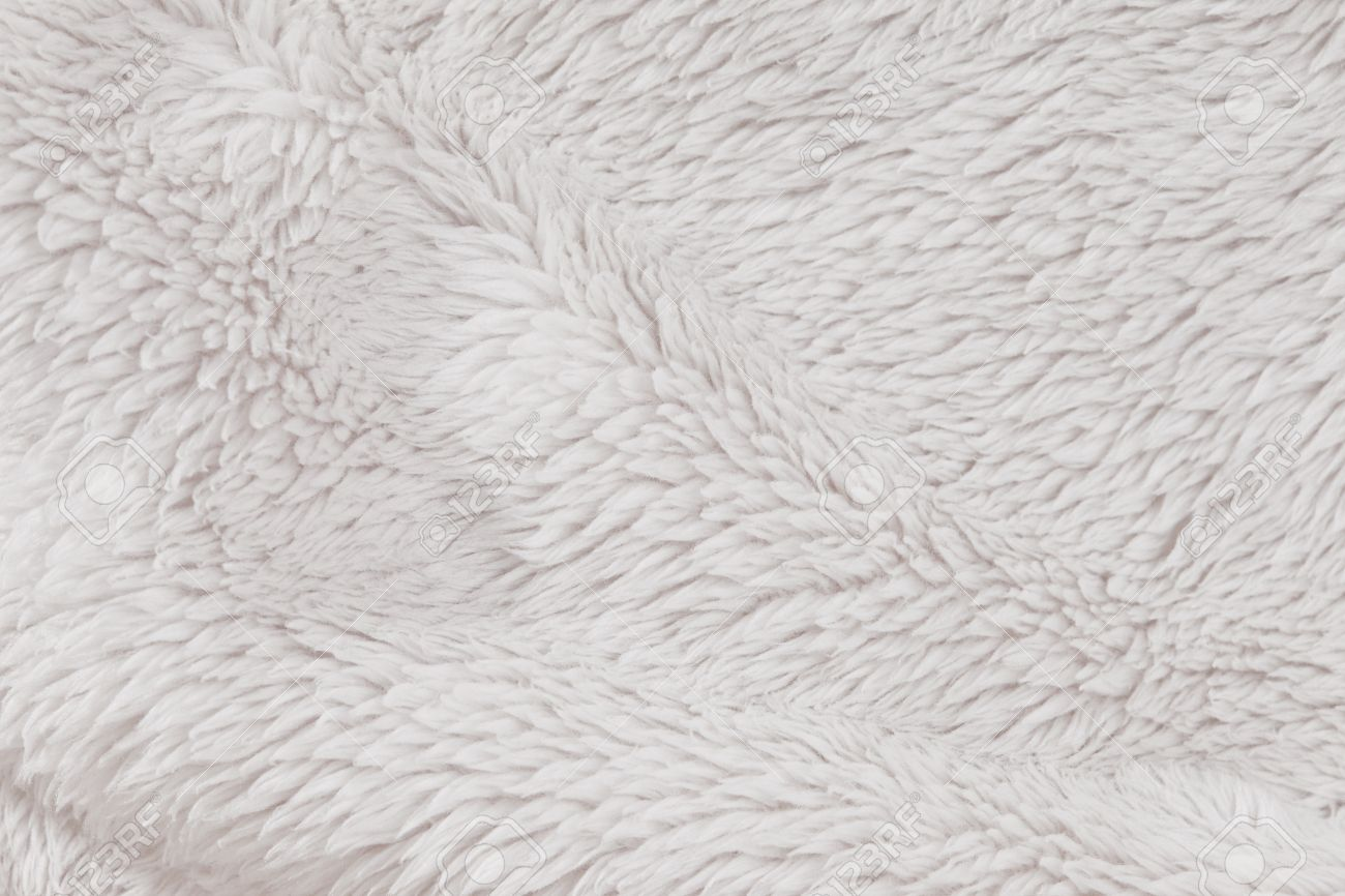 Soft, fur furry white textured background Stock Photo - 13240271