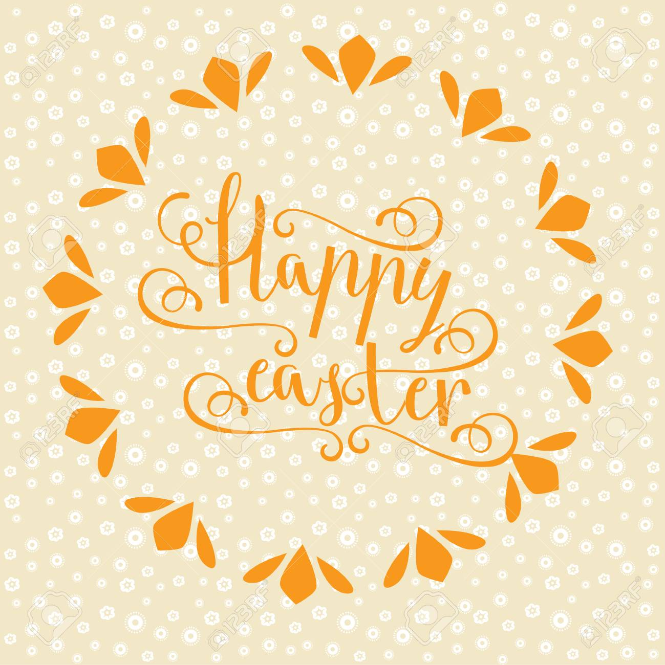 Easter vector bright illustration postcard a happy easter greeting easter vector bright illustration postcard a happy easter greeting cards labels hand calligraphic font m4hsunfo