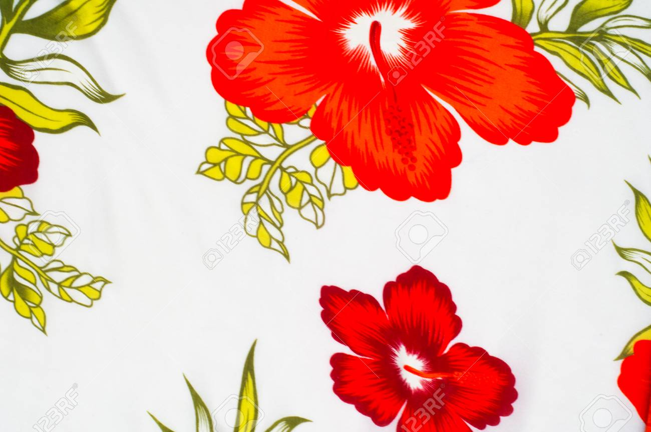 Cotton fabric texture background painted red flowers on a white cotton fabric texture background painted red flowers on a white background a soft white fibrous mightylinksfo