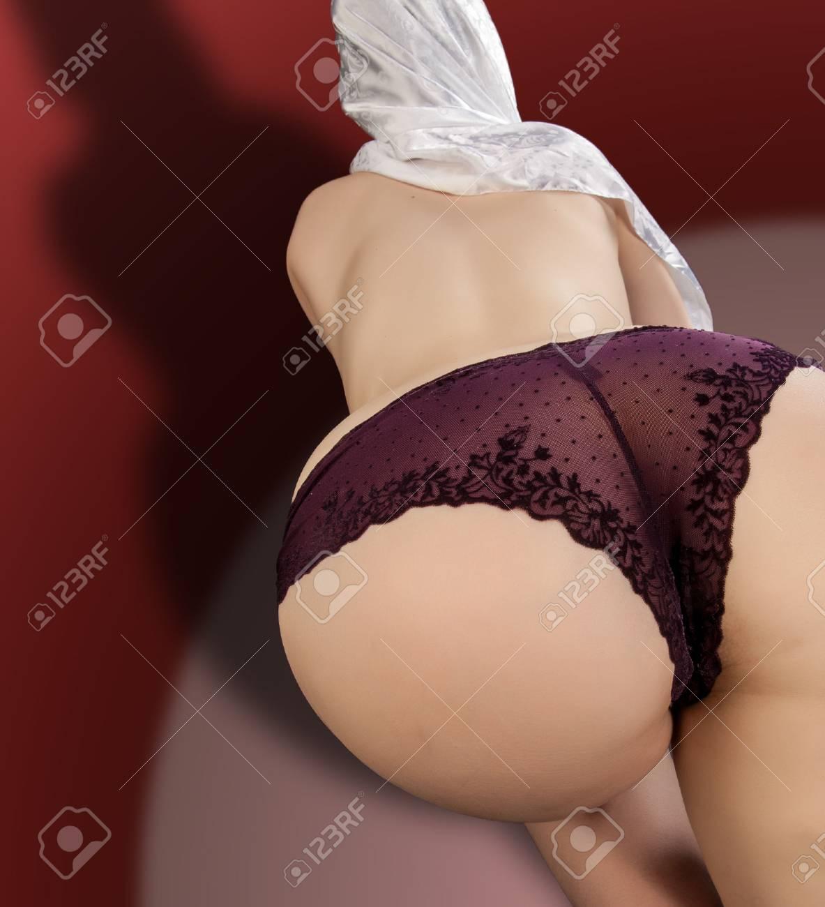 Mädchen arsch nackt