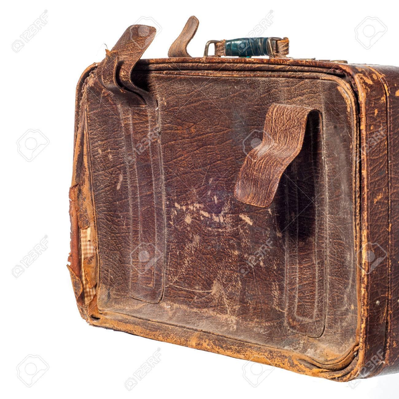 old suitcase texture suitcase bag trunk case handbag stock