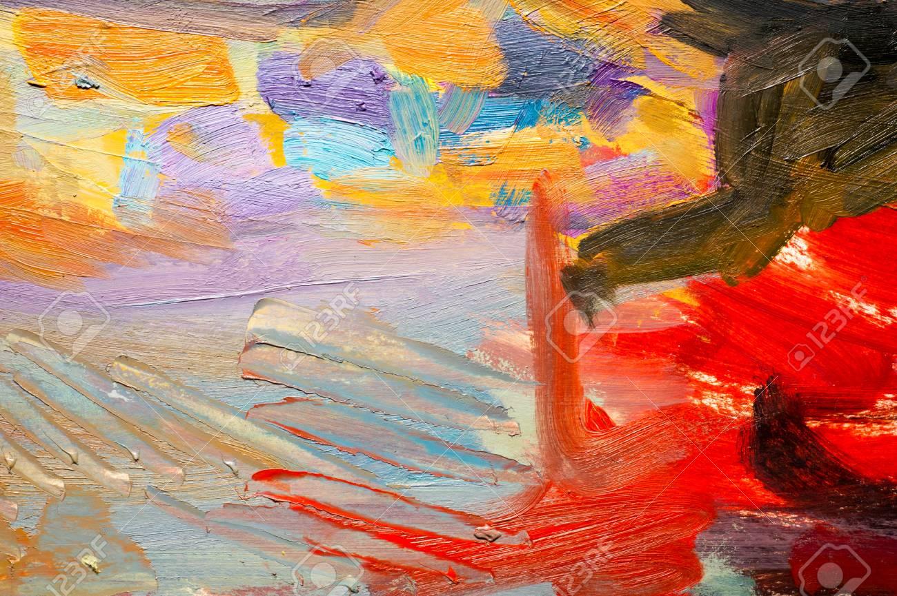 Ethnographie, M.Sh. Khaziev. Künstler Bild In Öl Gemalt. Hintergrund ...
