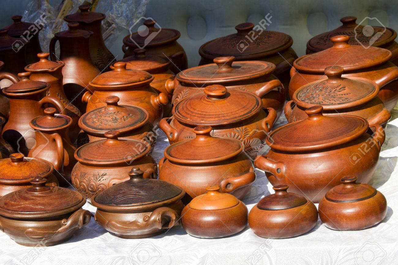 Steingut Porzellan keramik töpfe geschirr und andere gegenstände aus steingut oder