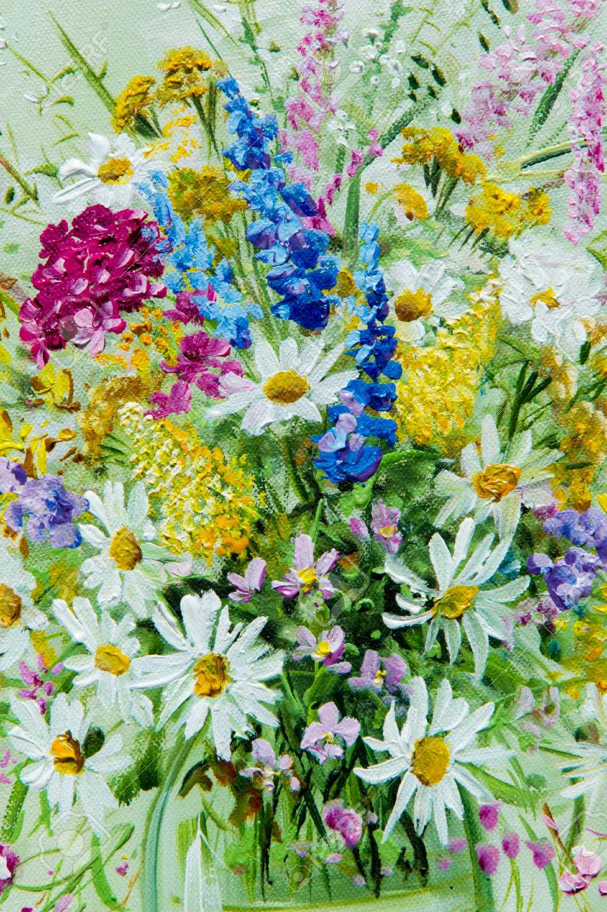 Texture pattern canvas painted in oils it painted a picture texture pattern canvas painted in oils it painted a picture of wild flowers reviewsmspy