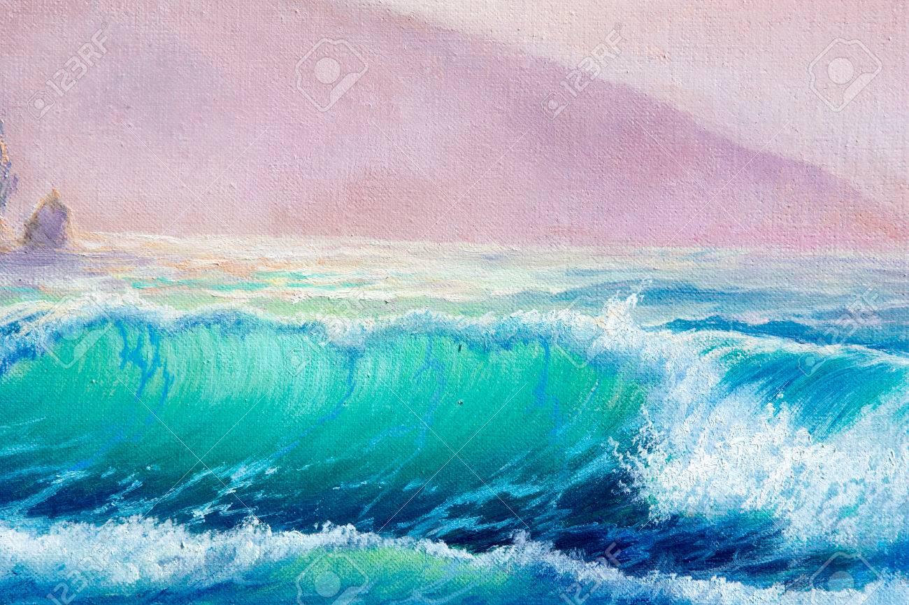 Texture Fond Peinture Sur Toile Peinte Avec Des Peintures à L