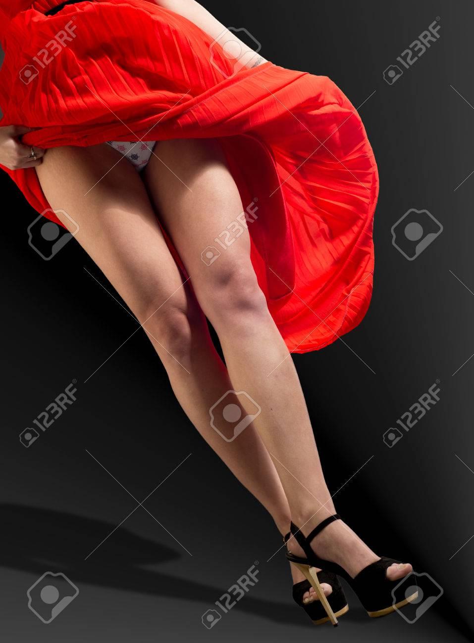 Legs Dress Panties Pictures