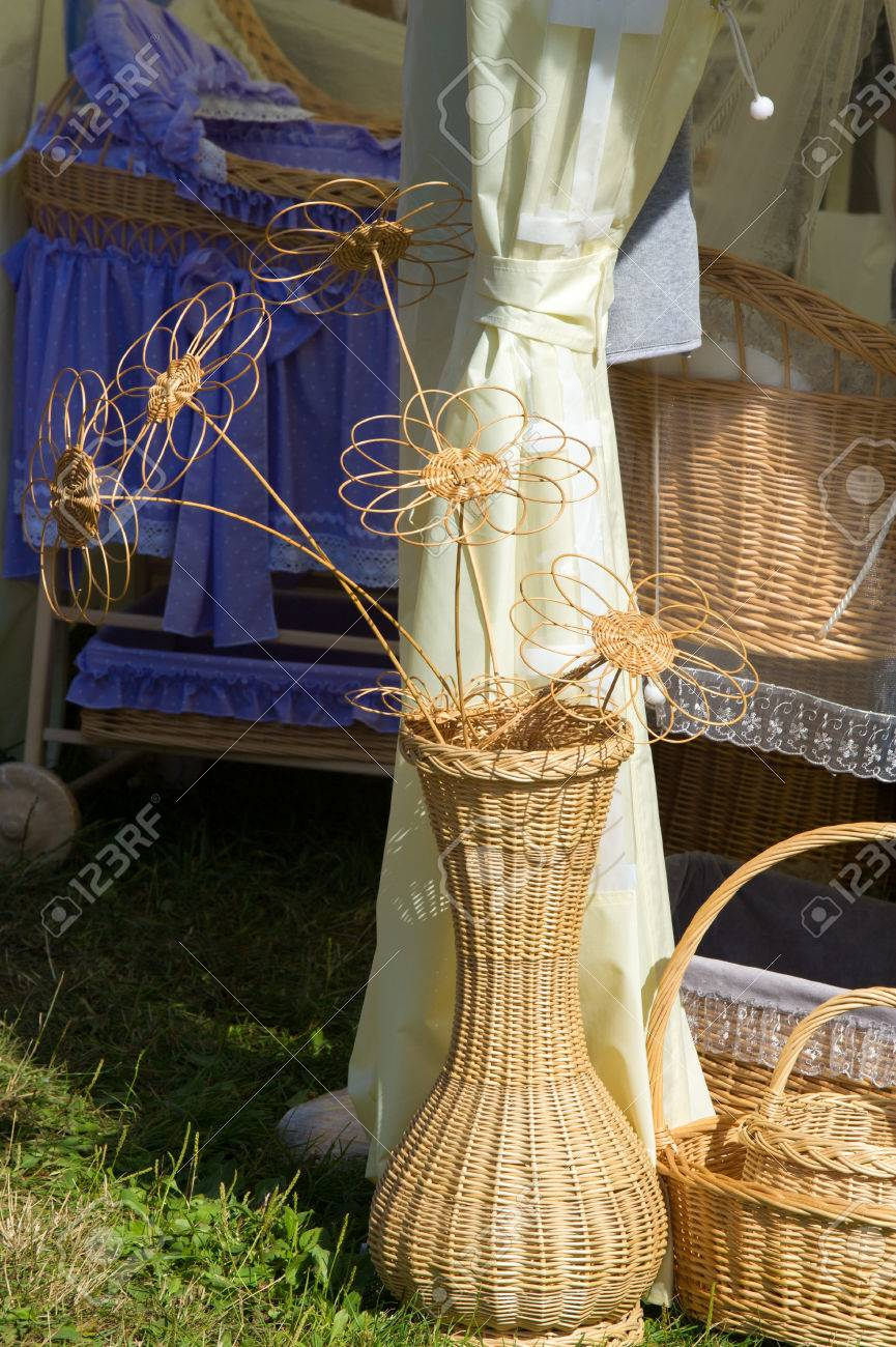 Artistic wickerwork willow a large vase for flowers designer a large vase for flowers designer jewelery stock photo 71926738 reviewsmspy