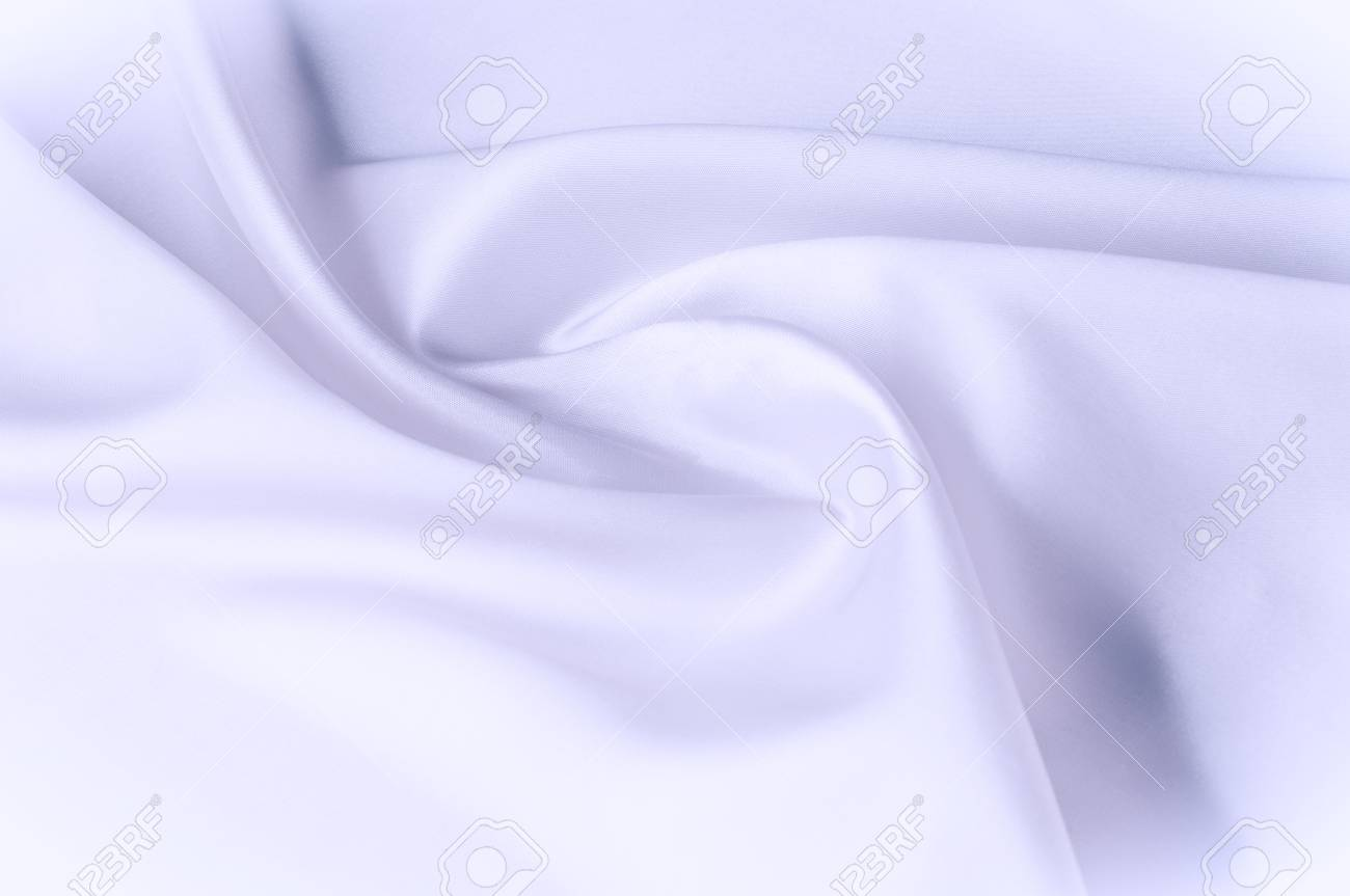 Texture Background Of Fabric Blue White Cloth Silk Fabric Wallpaper