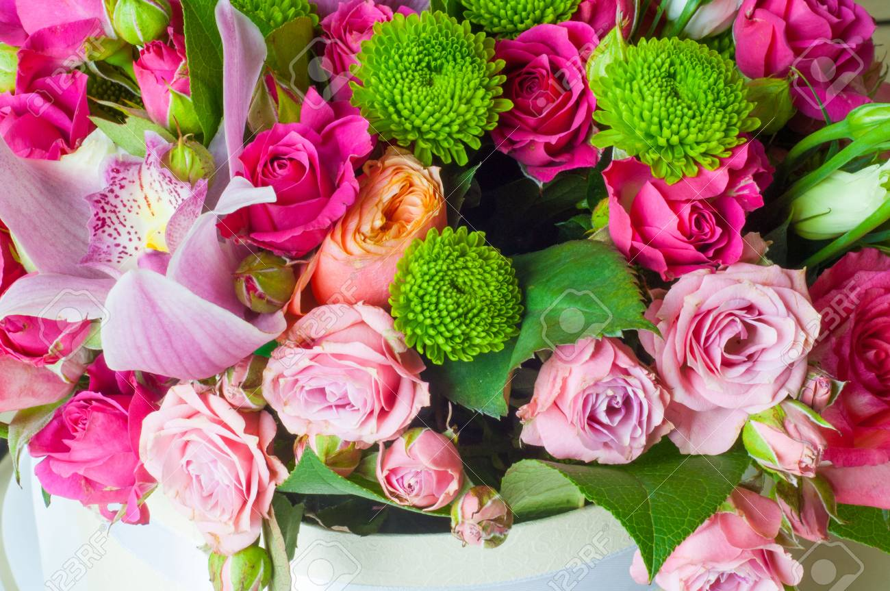 B Beautiful bouquet of flowers ready for the big wedding ceremony. - 81173670