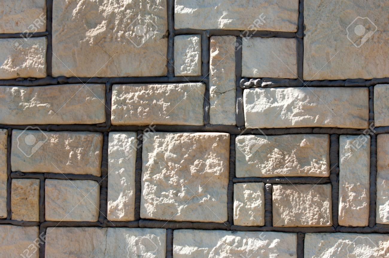 Struttura priorità bassa schema una parete di arenaria naturale