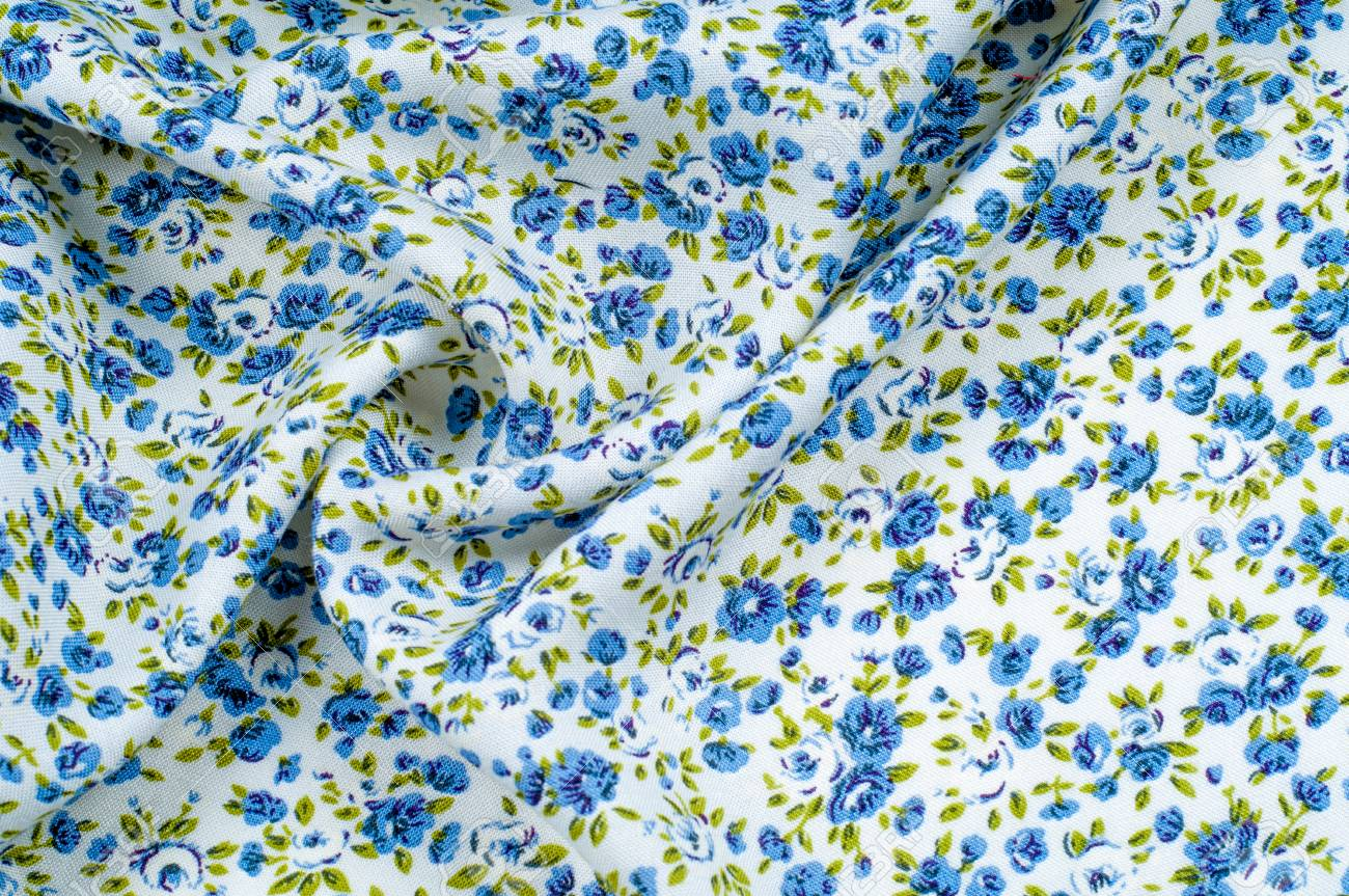 Background texture pattern thin cotton fabric with small blue background texture pattern thin cotton fabric with small blue flowers fabric has a izmirmasajfo