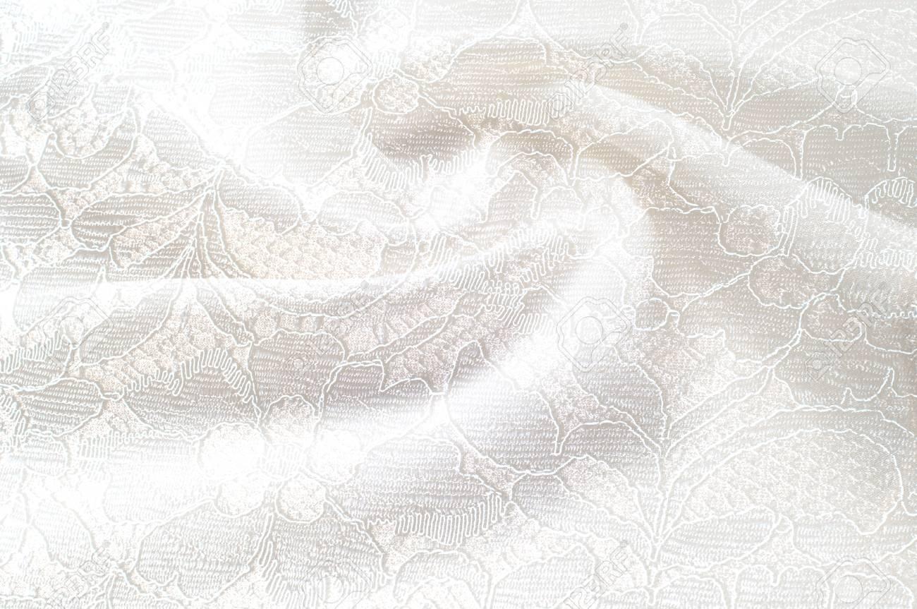 レースの花とテクスチャ背景画像 白背景 テクスチャ背景パターン