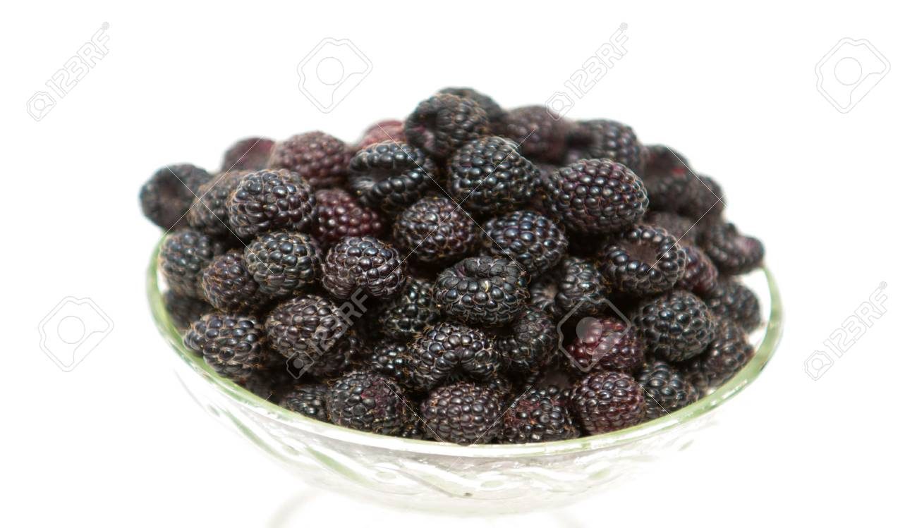 Black Raspberries Black Raspberry Blackberry Isolated On White Stock Photo Picture And Royalty Free Image Image 118443739