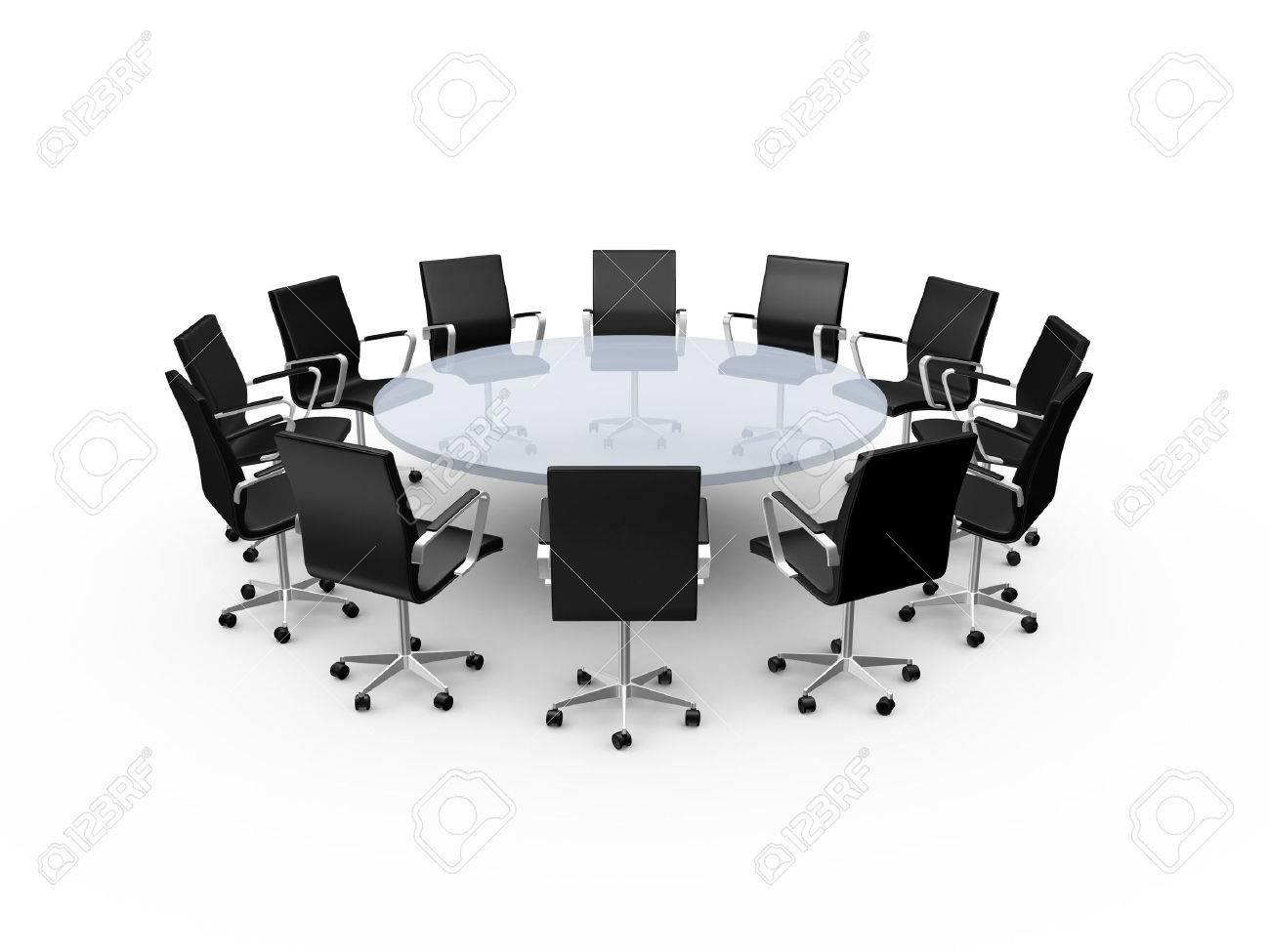 Resultado de imagen de mesa redonda oficina