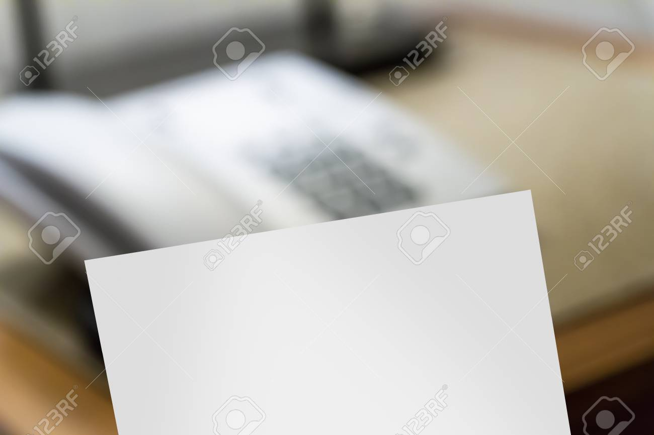 Blank note paper with telephone for service in hotel room. Stock Photo - 22723028