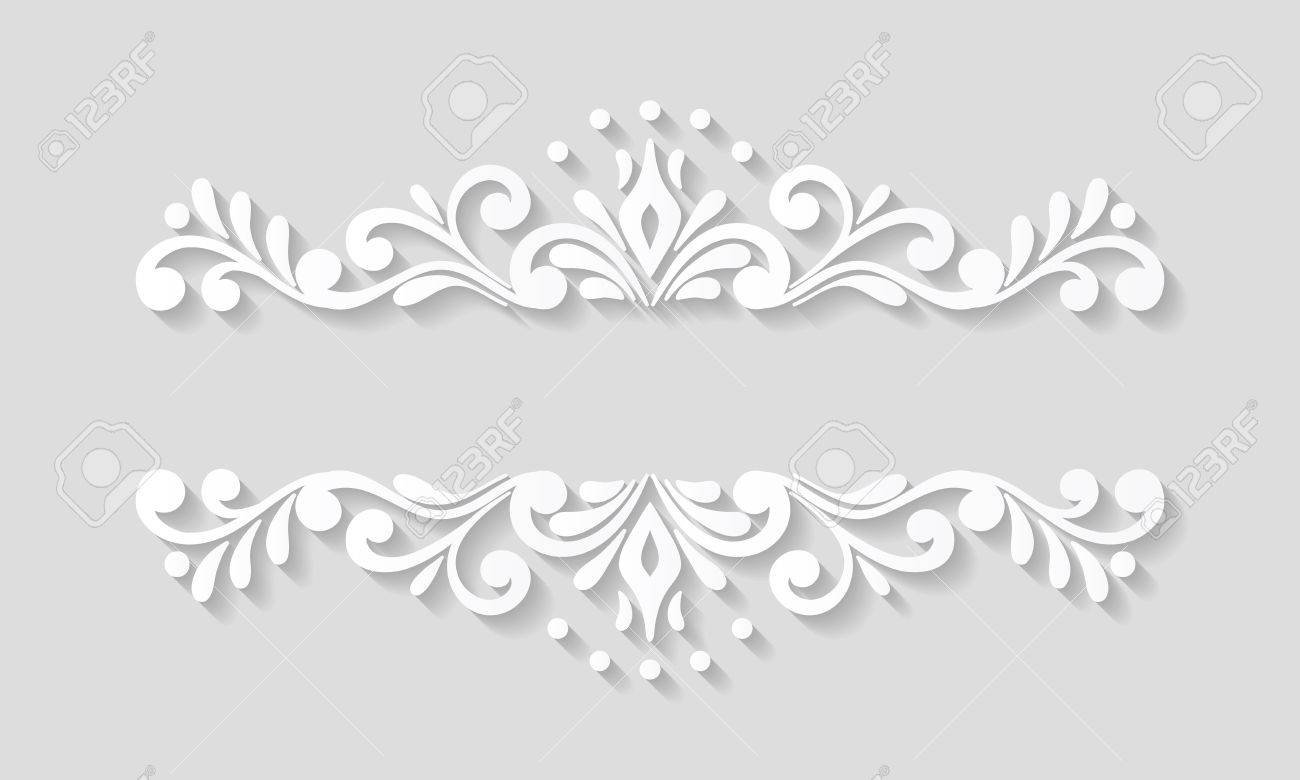 Beautiful Paper Border Designs Templates Images   Administrative .