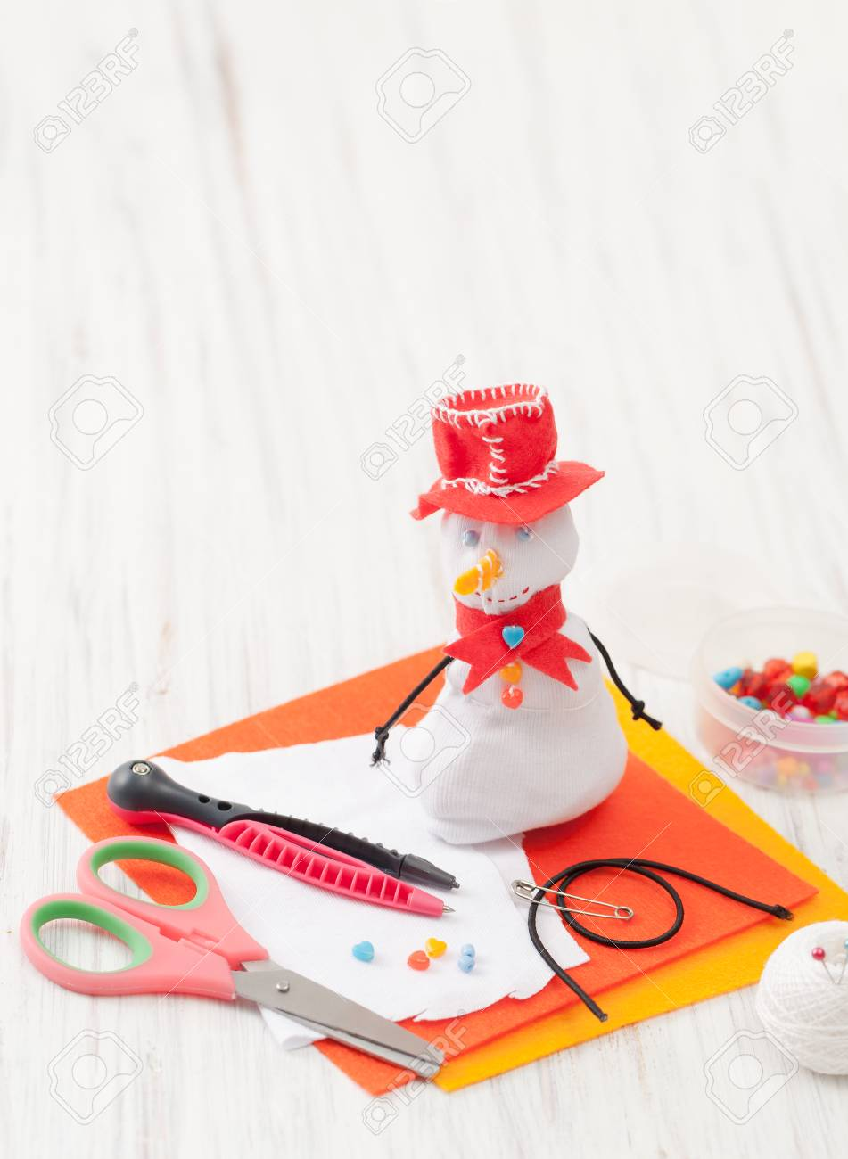 Homemade Crafts With Your Kids For New Year Or Christmas. Gifts ...