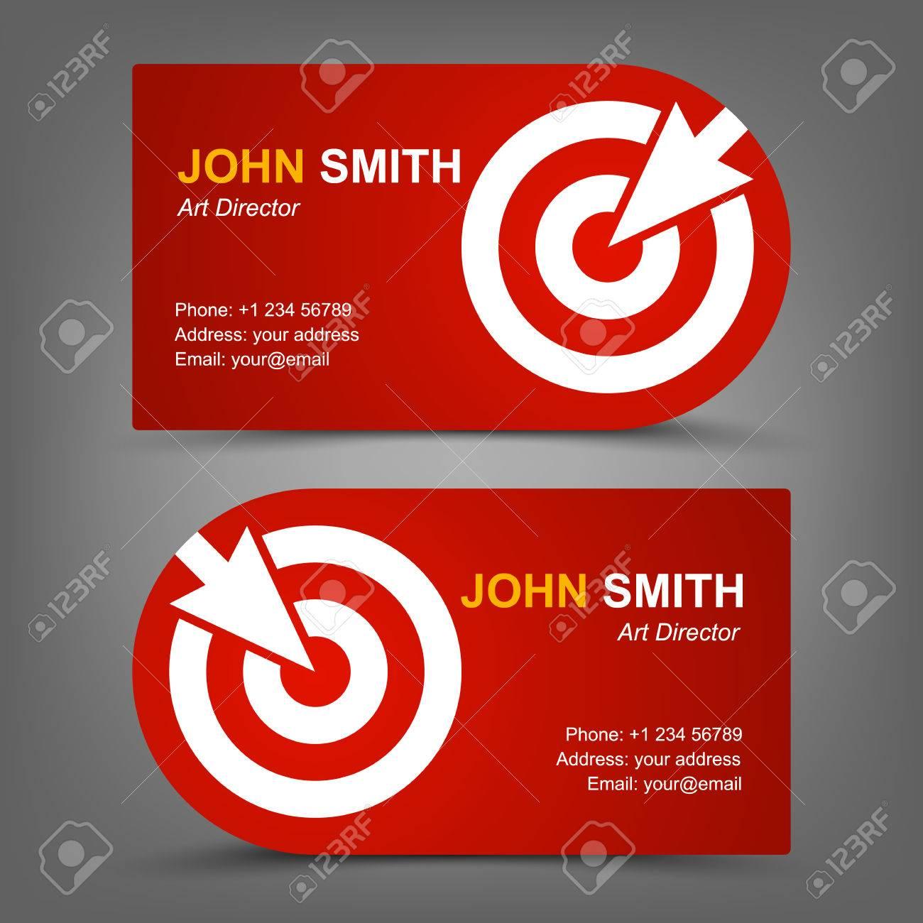 Business card target cursor royalty free cliparts vectors and business card target cursor stock vector 27335604 colourmoves