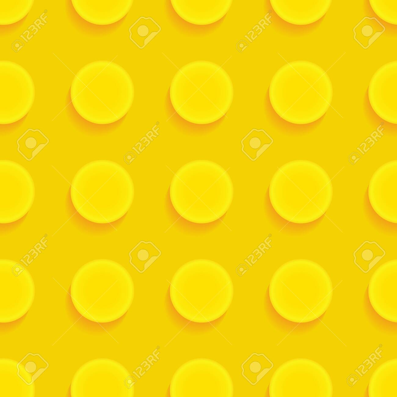 Toy brick puzzle. Seamless vector pattern in cartoon style - 148049585