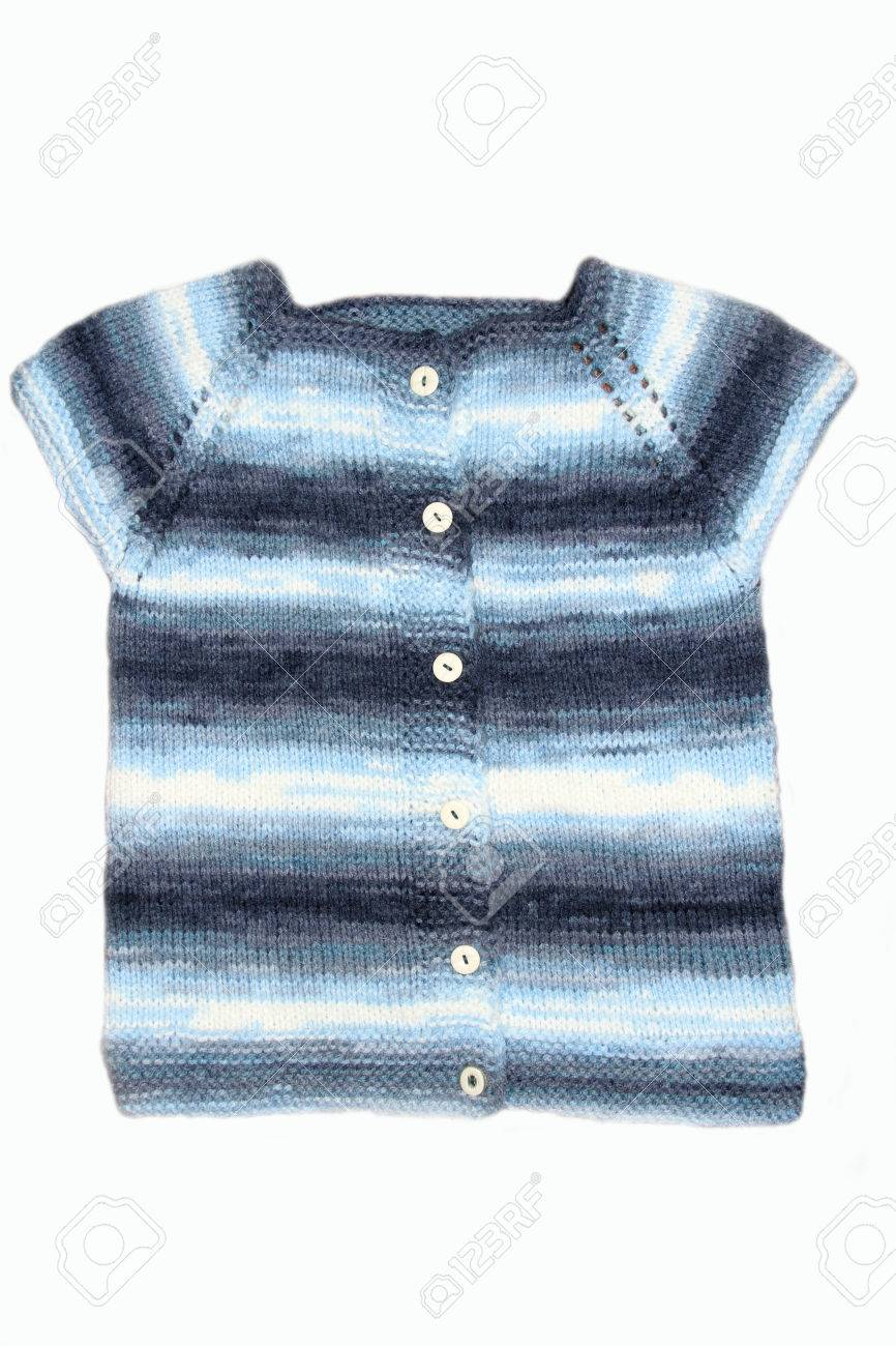 88a7709c69ce Knitted Baby Cardigan Stock Photo