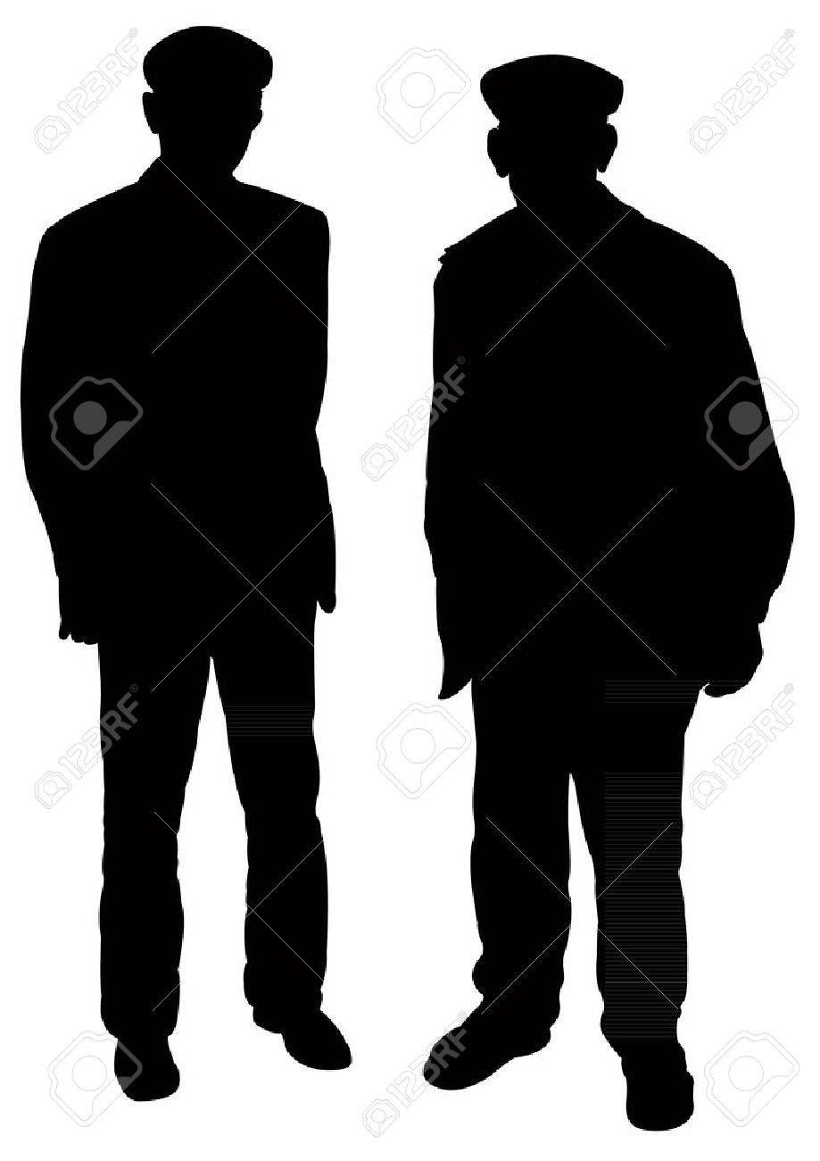 two old men silhouette vector royalty free cliparts vectors and rh 123rf com male female silhouette vector male silhouette vector