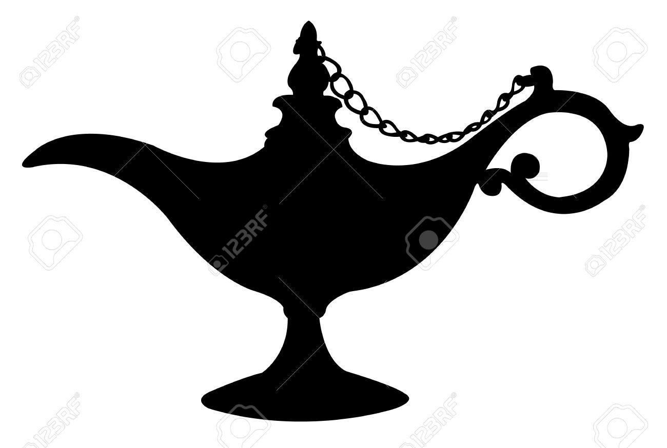 925 Aladdin Genie Stock Vector Illustration And Royalty Free Aladdin ... for Aladdin Genie Clipart  51ane