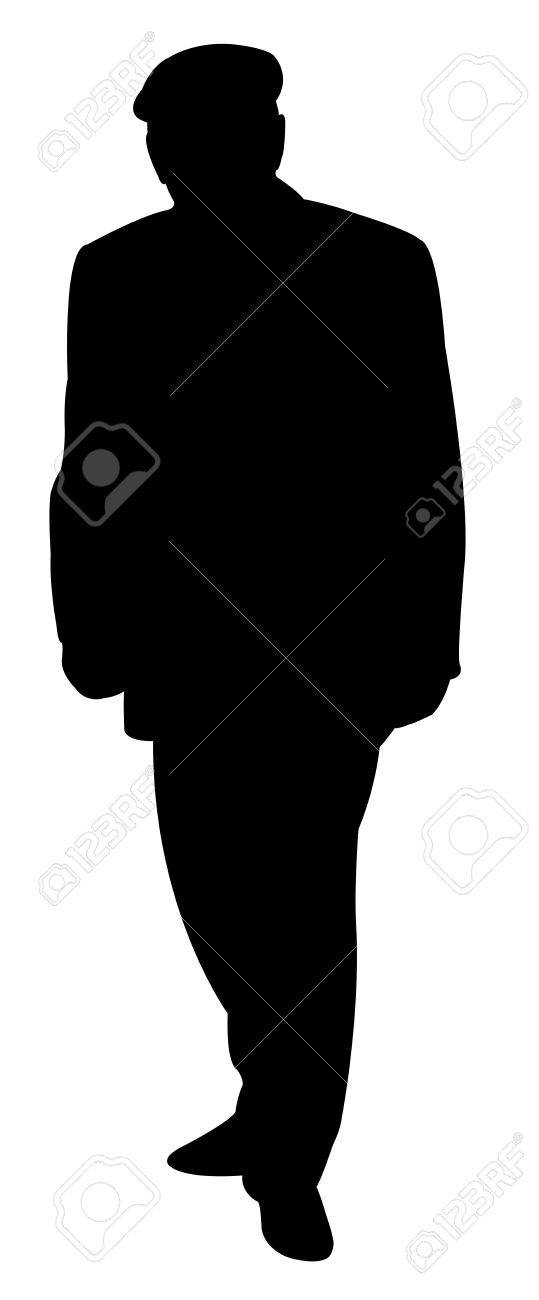 an old man silhouette vector royalty free cliparts vectors and rh 123rf com man silhouette vector free download man silhouette vector download