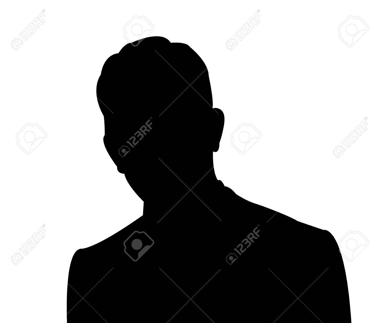 a man head silhouette vector royalty free cliparts vectors and rh 123rf com woman head silhouette vector mickey mouse head silhouette vector