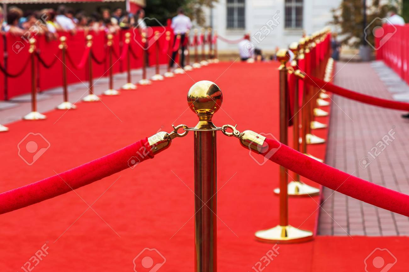 Barrier rope on the red carpet - 30106764