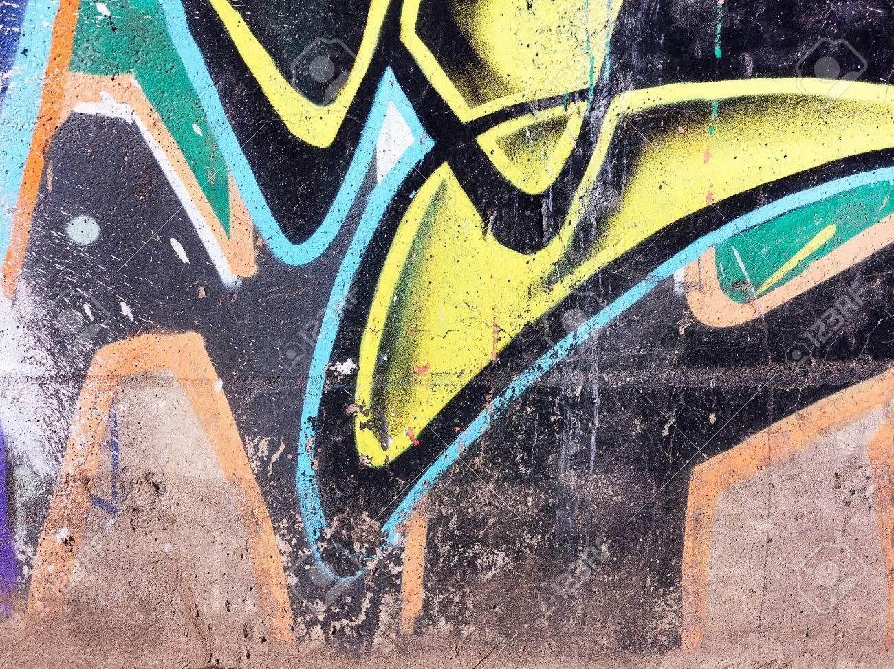Beton Verwittert Beschadigt Getragen Wandfarbe Grungy