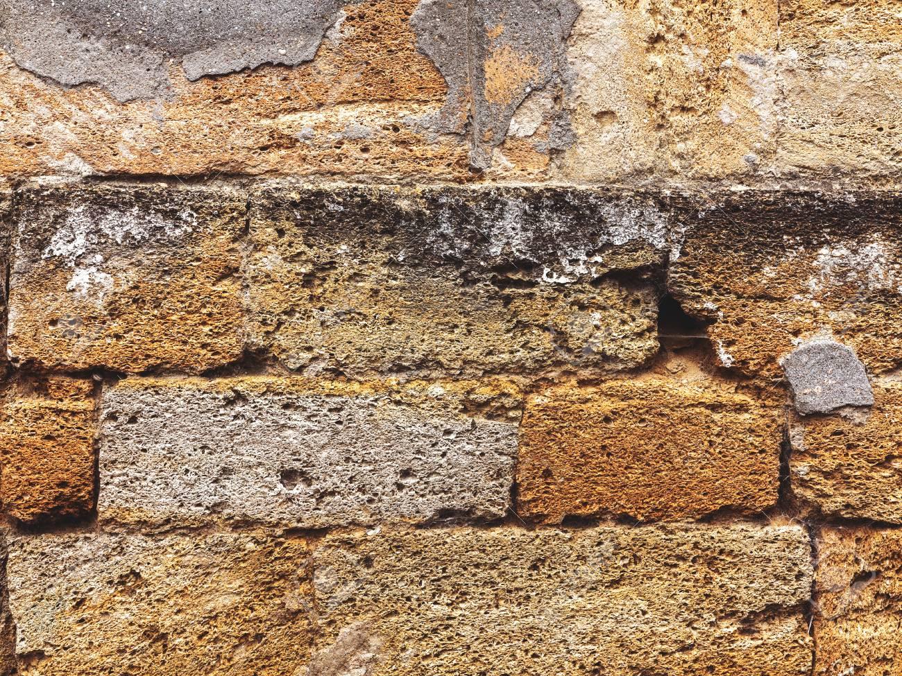 wand aus naturstein, wand aus naturstein . kann als hintergrund verwendet werden . großer, Design ideen