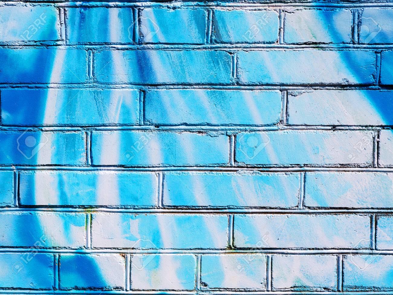 Peindre Sur Les Murs De Brique Mur De Brique éclaboussé De Peinture De Différentes Couleurs Vous Pouvez Utiliser Comme Arrière Plan