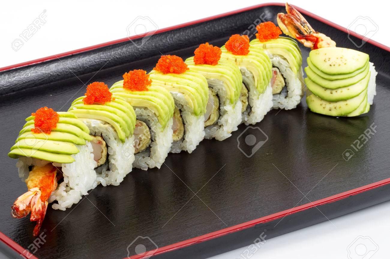 Sushi Une Delicieuse Cuisine Gastronomique Sur La Table Cuisine