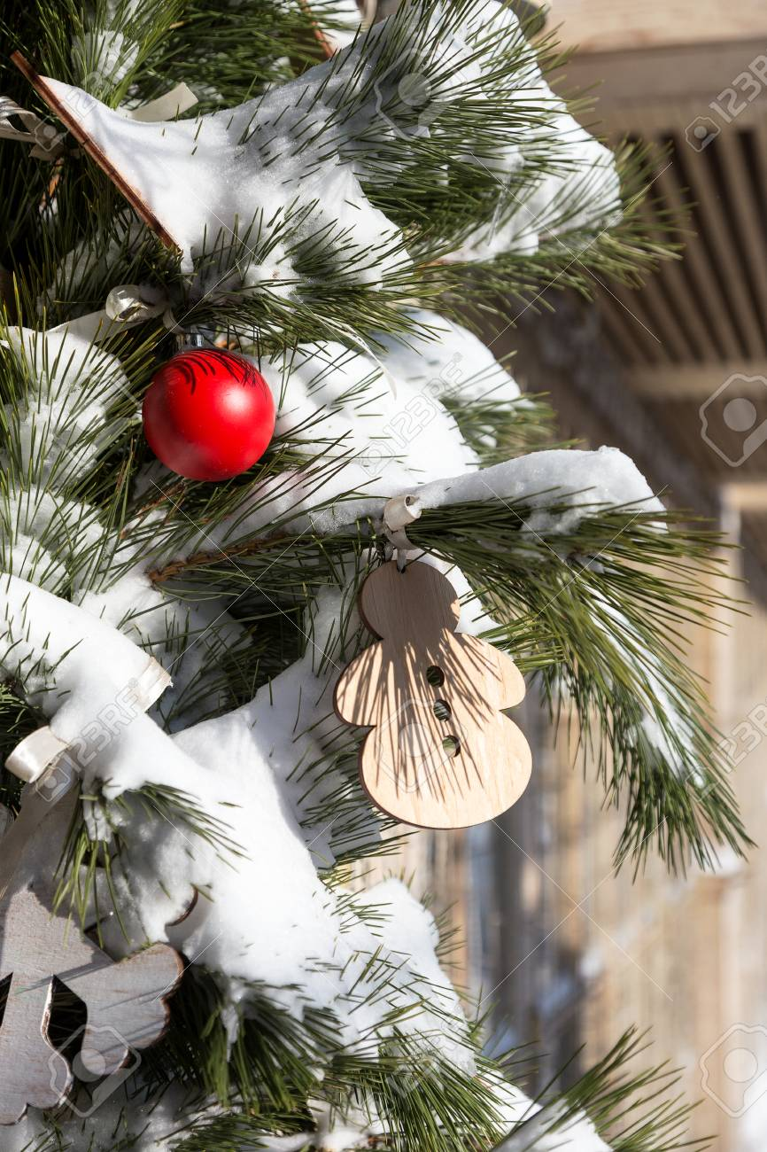 Exquisite Christmas And New Year Decorations And Christmas Trees ...