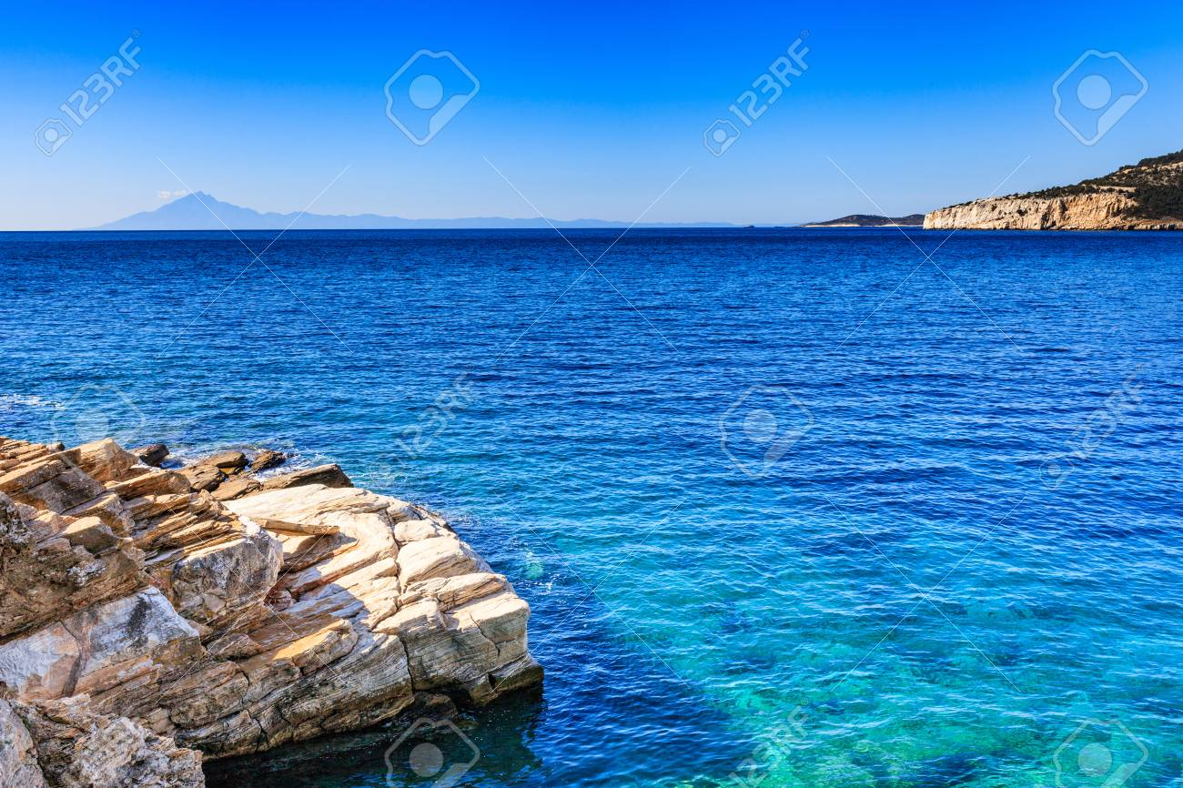 Beautiful and undiscovered Thassos, Greece - 55480560