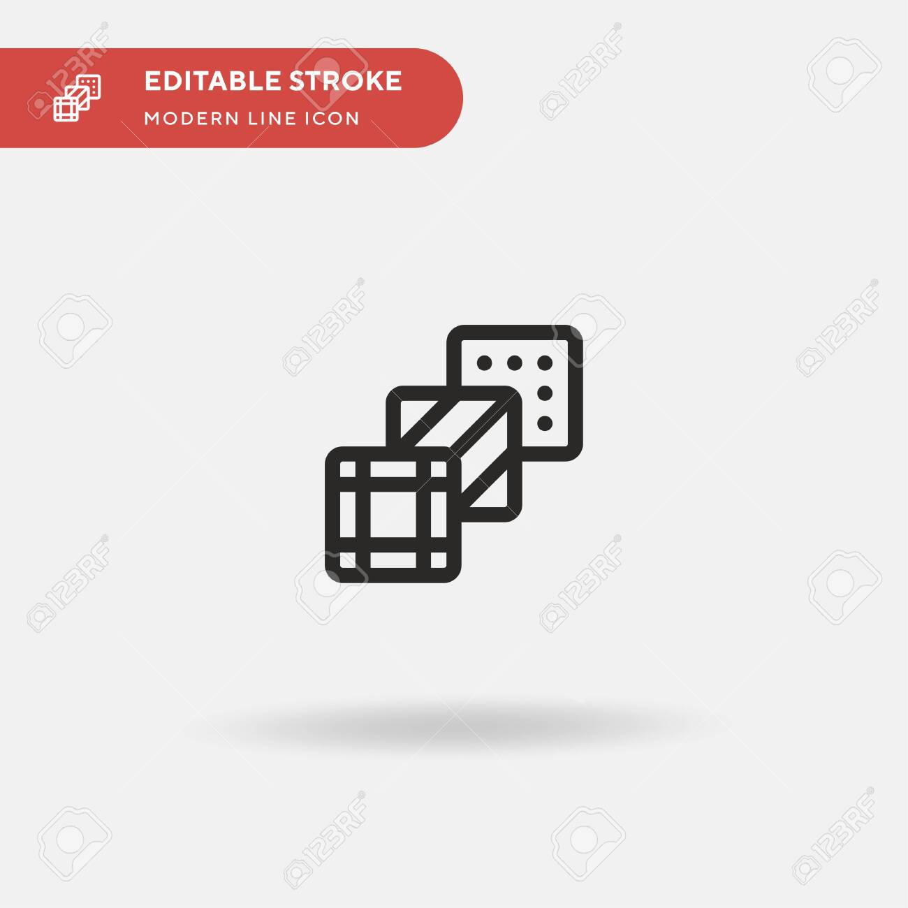 Fabric Simple vector icon. Illustration symbol design template for web mobile UI element. Perfect color modern pictogram on editable stroke. Fabric icons for your business project - 150954038