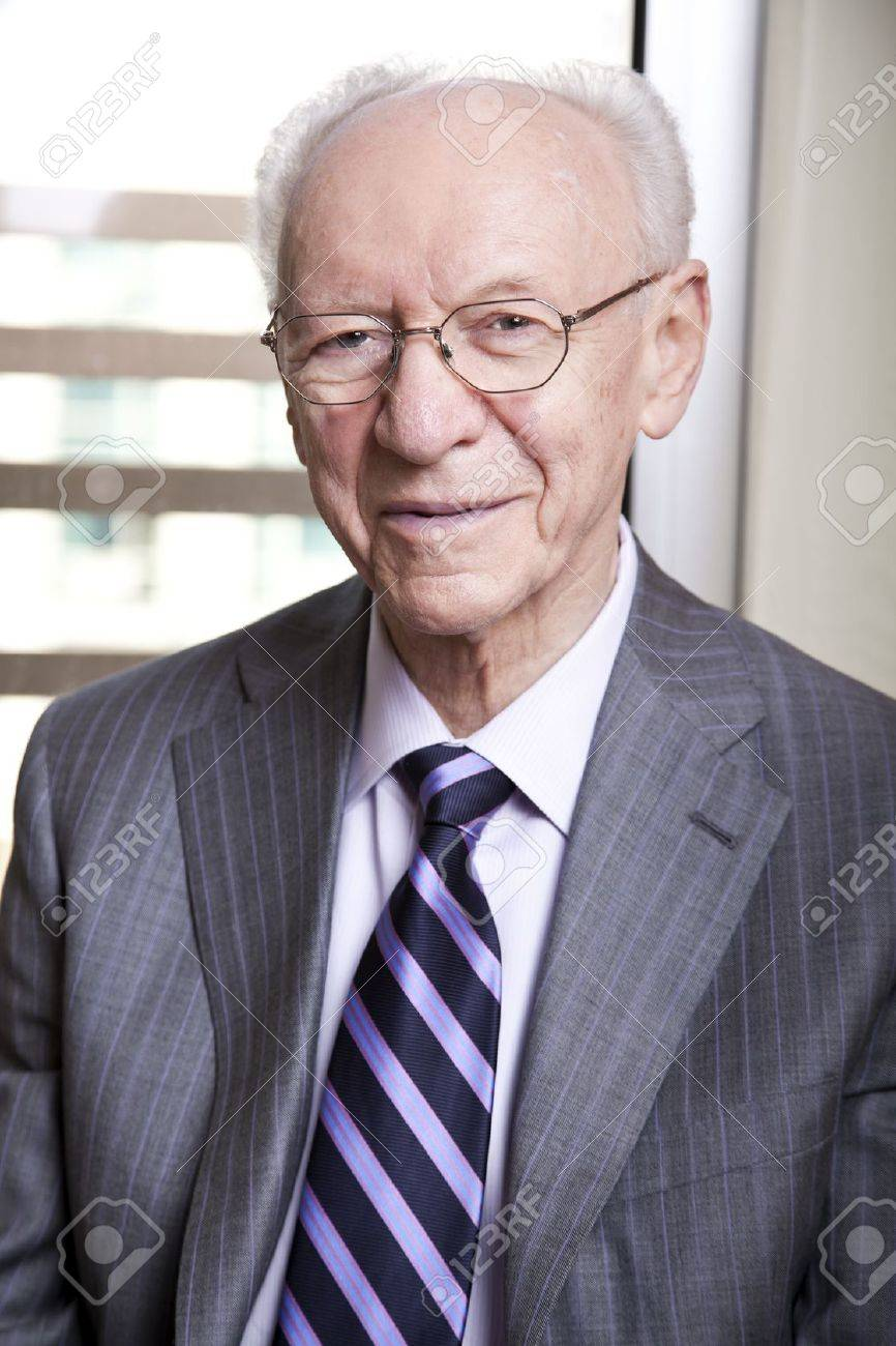 Groovy Medium Close Up Portrait Of A Senior Businessman In His 8039S Hairstyles For Women Draintrainus