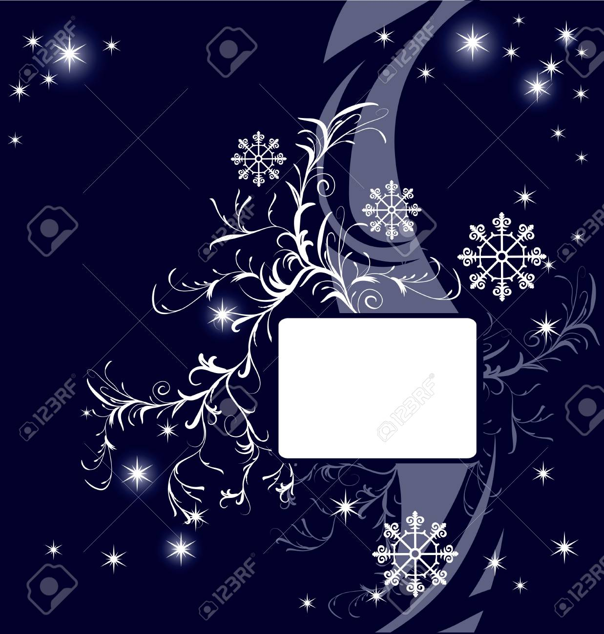 Abstract  winter background Stock Vector - 7462527