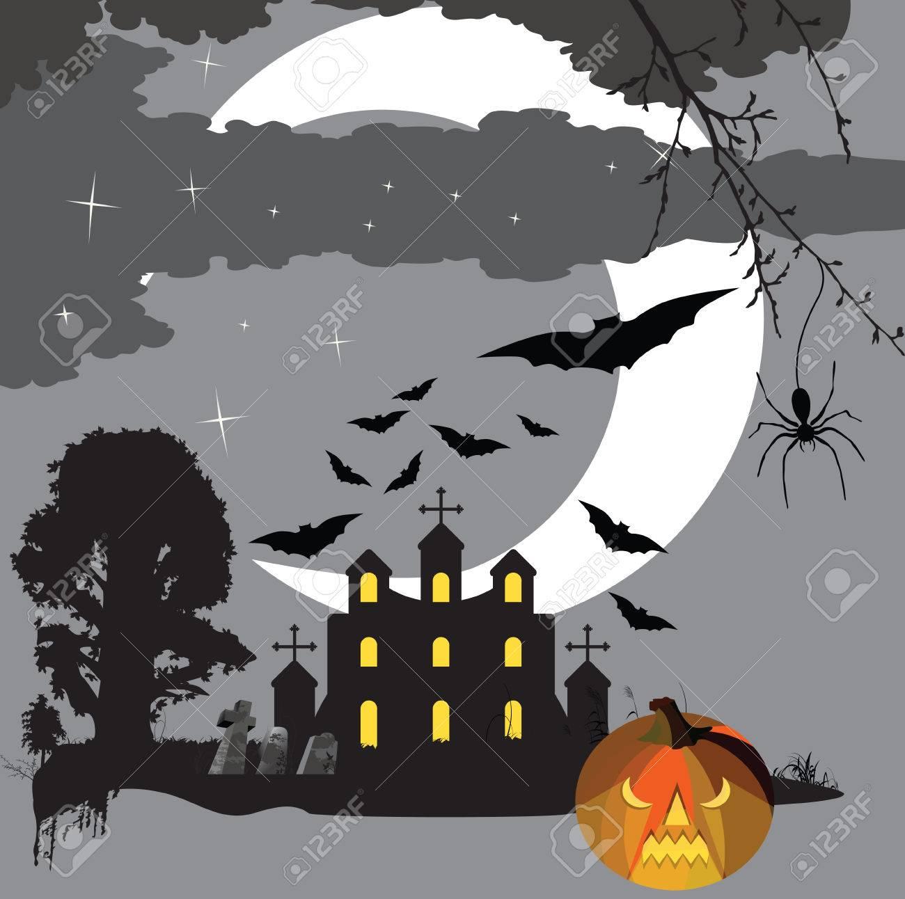 Scary halloween Stock Vector - 8017154