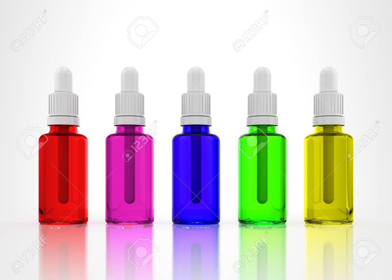 Eye Dropper Bottle Isolated on a white background Stock Photo - 23300217