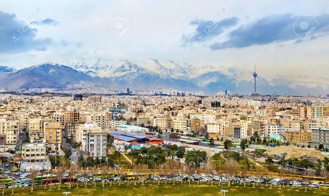 アザディ タワー - イランのテヘ...