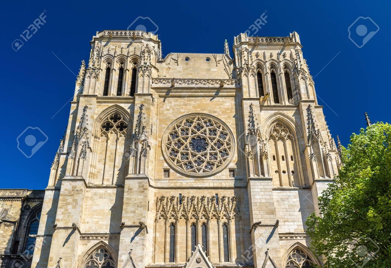 ボルドーの聖アンドレ大聖堂-フランス、アキテーヌ の写真素材・画像 ...