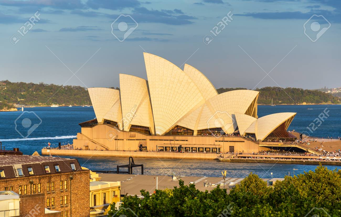 Sydney Opera House, a UNESCO world heritage site in Australia, New South Wales - 84969665
