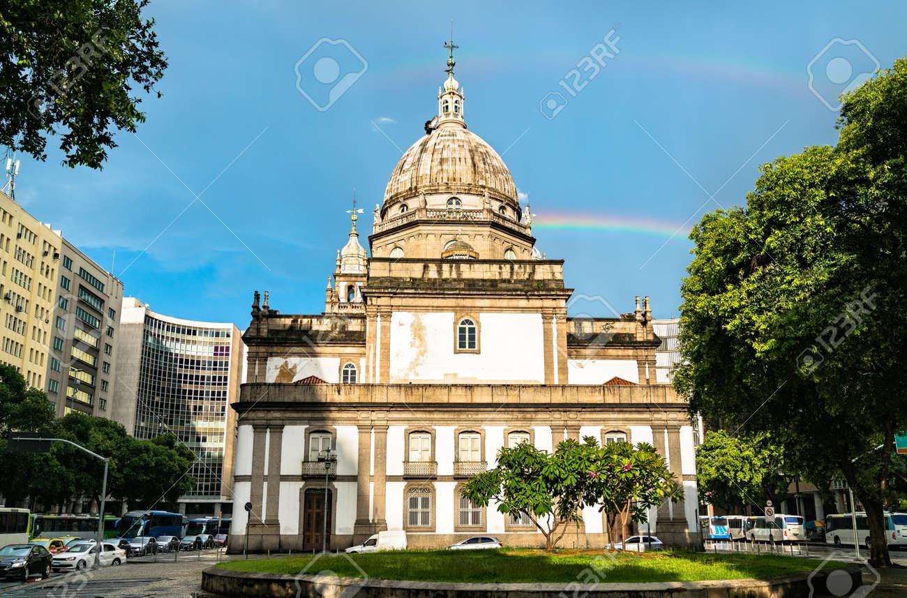 Candelaria Church in Rio de Janeiro, Brazil - 153971664