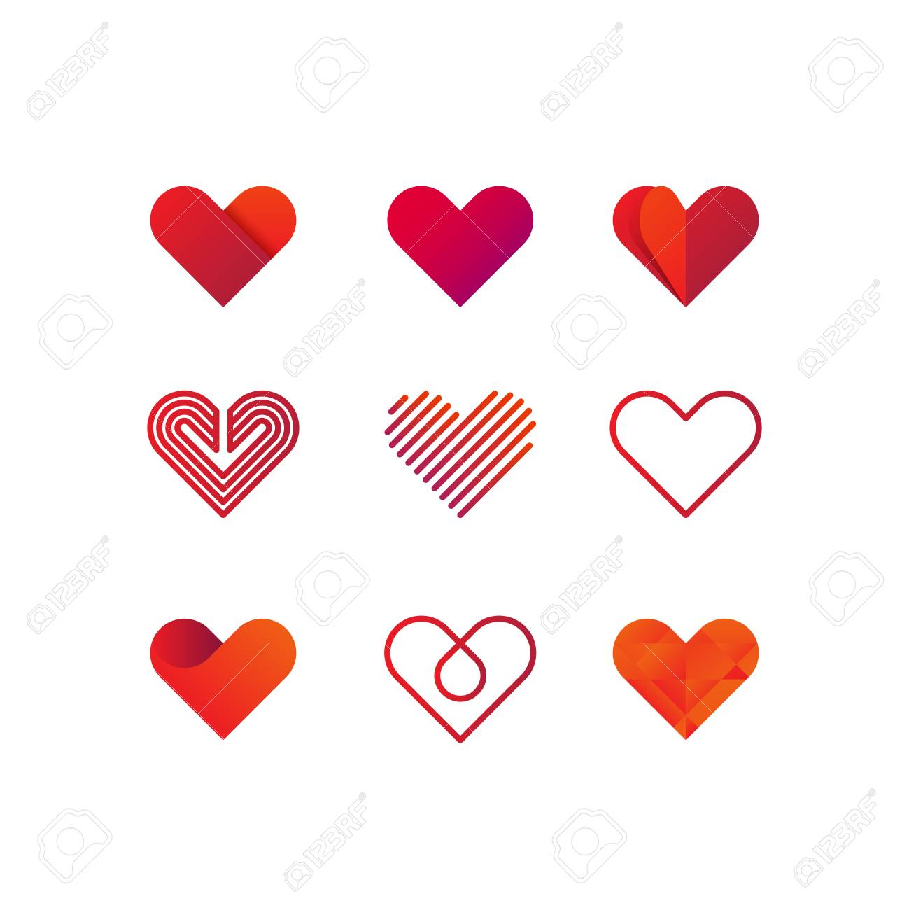 Heart Logo Vector Heart Logo Jpeg Heart Logo Object Heart