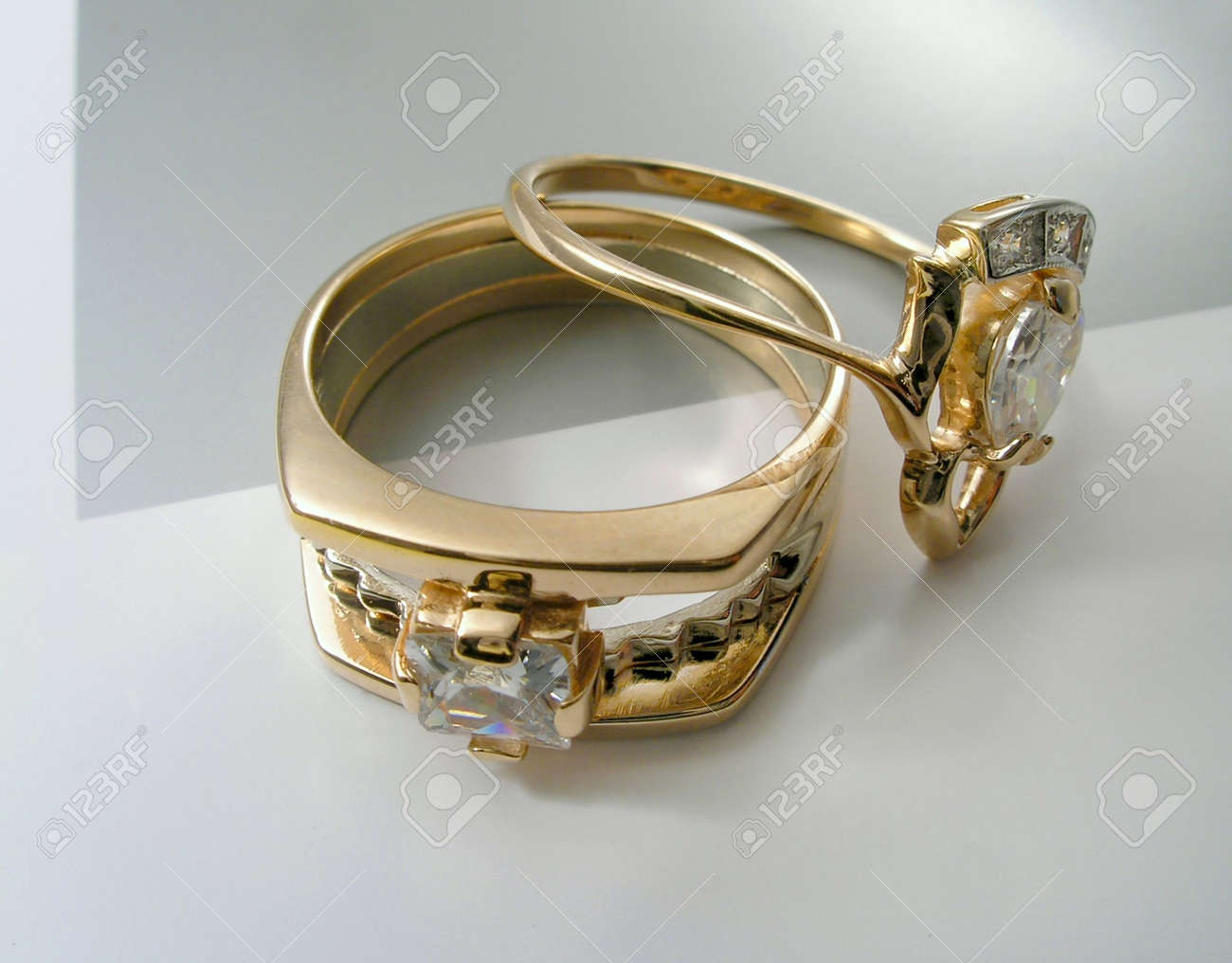 Two rings Stock Photo - 864670